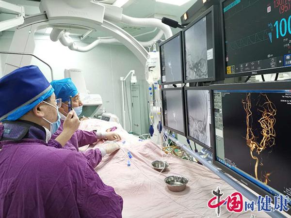 柳州市人民医院成功治疗一名大脑大静脉球瘤患儿