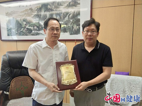 中国网健康中国王子枫一行到河北省儿童医院调研