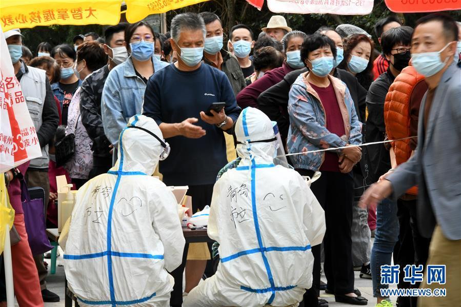 (聚焦疫情防控)(4)青岛:万余名医务人员采集样本400多万份未发现新增阳性