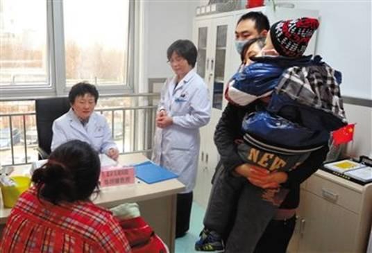 北京儿童医院每周均有专家赴河北出诊