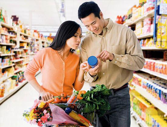 """购买食品为健康要""""四看"""""""